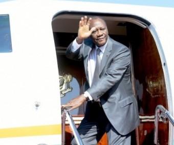 Alassane Ouattara à Lomé pour l'An 45 de la BOAD