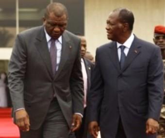 Les condoléances d'Alassane Ouattara à Hamed Bakayoko