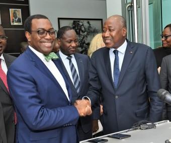 La BAD apporte un  soutien de 283 milliards de FCFA à la Côte d'Ivoire