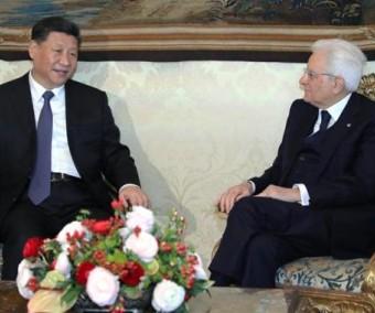 Italie : Xi Jinping et Sergio Mattarella promeuvent la coopération sino-italienne