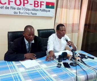 Burkina, La lettre de Blaise Compaoré agite l'opposition