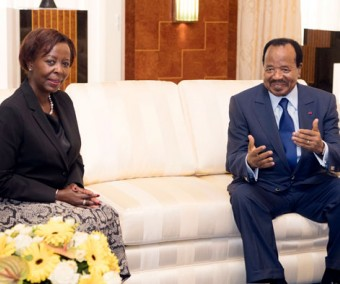 La SG de la Francophonie à l'écoute de Paul Biya
