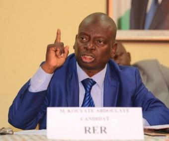 La gifle de Kouyaté Abdoulaye  (RHDP) à Bédié