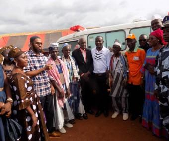 Les actes forts d'Alpha Yaya Touré  à Dianra