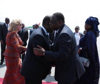 Macky Sall est à Abidjan pour 72 heures