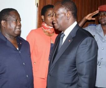 PDCI, 54 délégués lâchent Bédié pour Ouattara