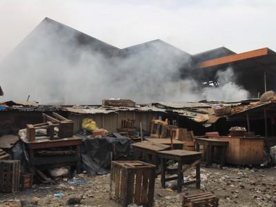 Incendie au marché de Port-Bouët, une cellule de crise mise en place
