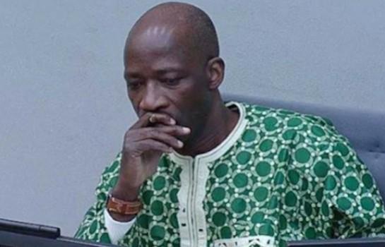 Charles Blé Goudé en route pour Abidjan, en Côte d'Ivoire