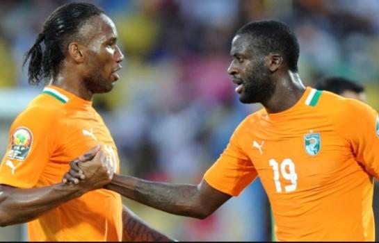 Didier Drogba et Yaya Touré, des leaders irremplaçables chez les Éléphants