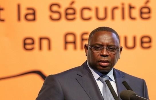Macky Sall le président Sénégalais