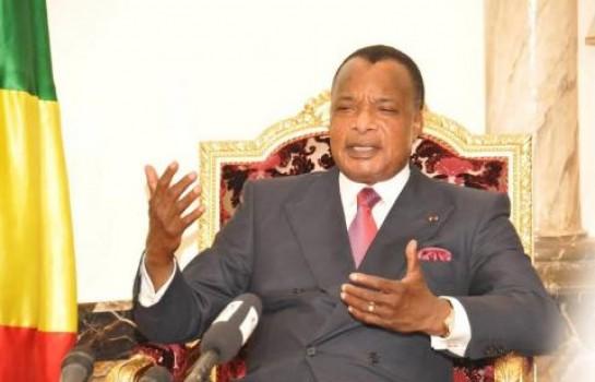 Le président de la République du Congo-Brazza, Denis Sassou-Nguesso