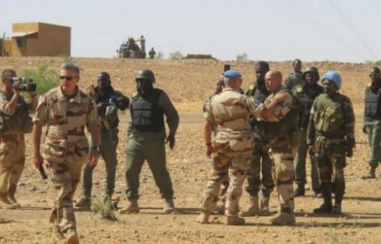 Barkhane : Photo de quelques éléments de la force Barkhane au Mali
