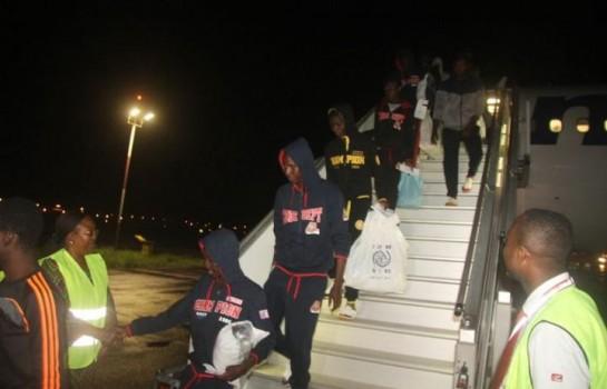 Des migrants de retour à Abidjan