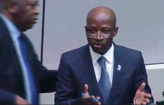 Charles Blé Goudé et Laurent Gbagbo à la barre de la CPI