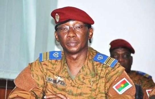 Burkina : Le colonel Denise Auguste Barry incarcéré à la Maca