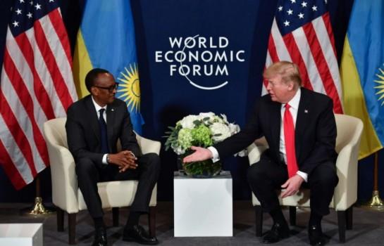 Donald Trump rencontre Kagamé