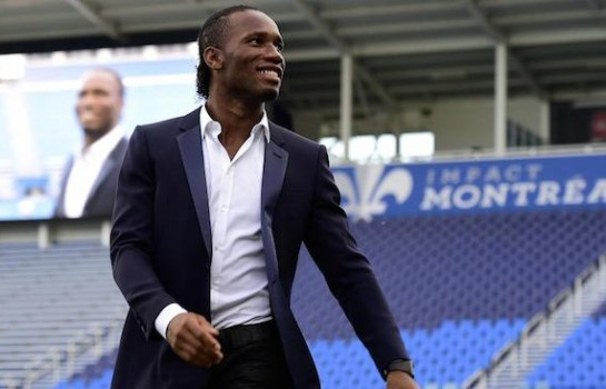 L'icône africaine du football Didier Drogba