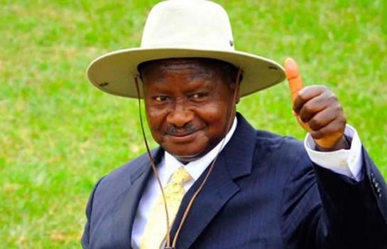 Le président ougandais Yoweri Museveni