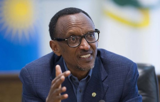 Paul Kagamé, président en exercice de l'union africaine