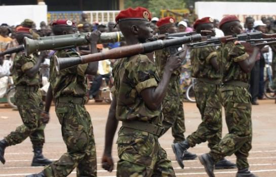 La Russie a fourni des armes en Centrafrique
