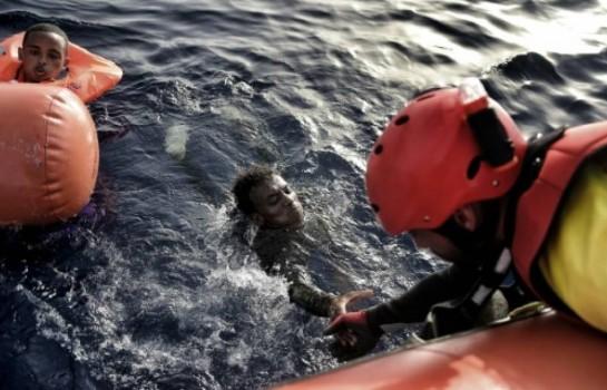 migrants secourus en Libye