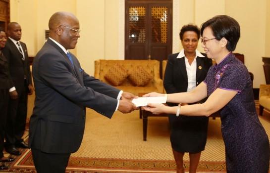Tanzanie,président Tanzanien John Magufuli ,Wang Ke,ambassadrice de Chine en Tanzanie