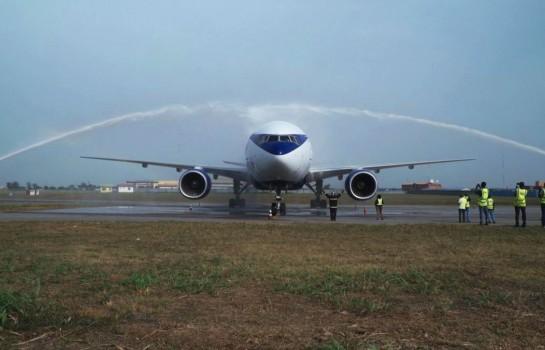 Air Peace réceptionne le premier de ses deux Boeing B777