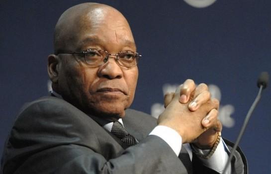 Le président Jacob Zuma contre sa destitution — Afrique du Sud