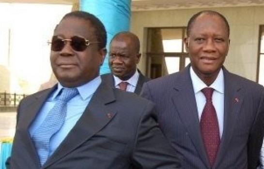 Clash entre Henri Konan Bédié (PDCI) et Alassane Ouattara (RDR)