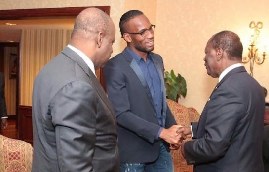 Didier Drogba fête ses 40 ans à Abidjan — Côte d'Ivoire