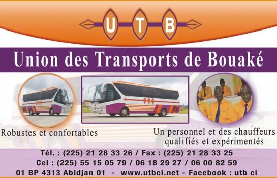 La compagnie de transport UTB a rédu3 trajetsit ses prix sur