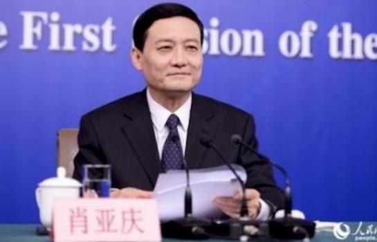 Xiao Yaqing plaide pour la Chine dans l'équité dans l'examen des projets d'investissement à l'étranger