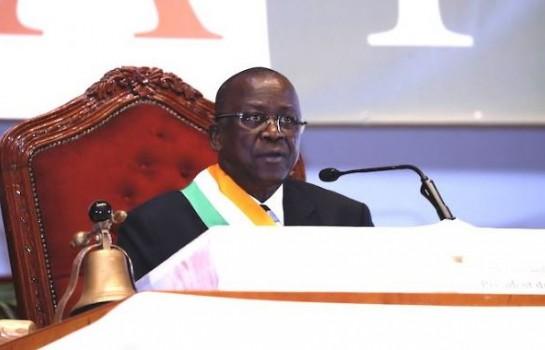 Jeannot Ahoussou Kouadio, président du Sénat