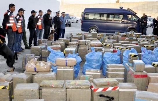 Plus de 6T de drogue saisies au Maroc