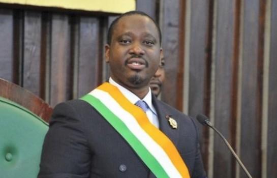 Guillaume SORO interpellé par par un ivoirien.