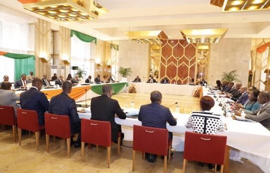 Rentrée solennelle du premier Sénat en Côte d'Ivoire