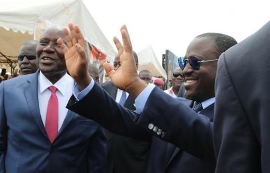 Guillaume Soro à une cérémonie d'hommage au président Ouattara à Ferkessédougou