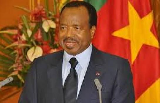 Le président Camerounais,Paul Biya