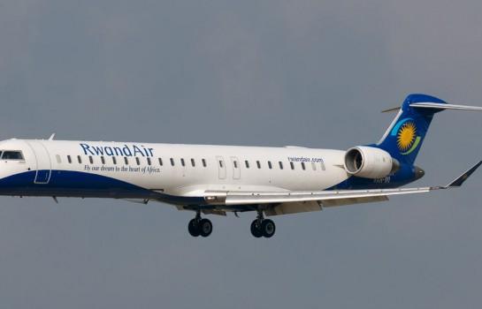 Rwandair: la ligne est opérée en CRJ900