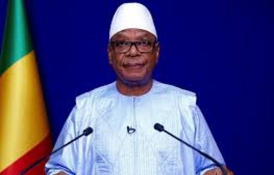 Le président malien IBK