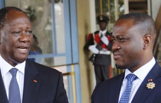 Rencontre entre Alassane Ouattara et Guillaume Soro