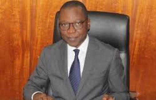 Le ministre Amadou Koné