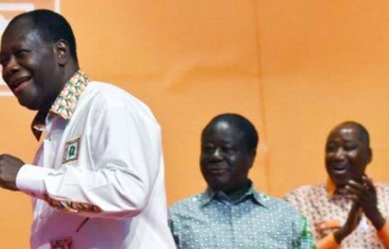 En avant pour le Parti unifié, Ouattara ignore Bédié