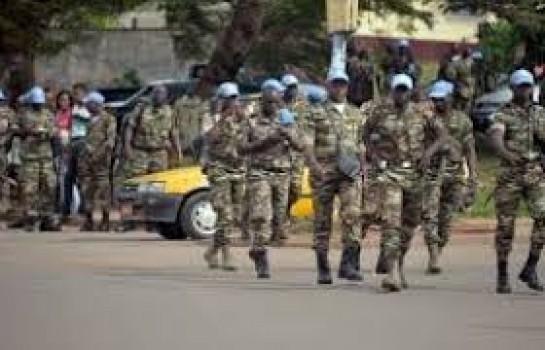Les casques bleus de L'ONU