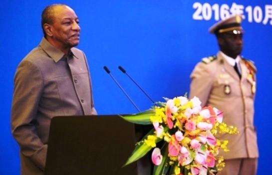 Le président Alpha Condé favorable à  la communauté de destin sino-africaine