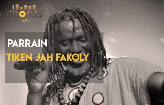 Chorus - Tiken Jah Fakoly est le parrain de l'édition 2018