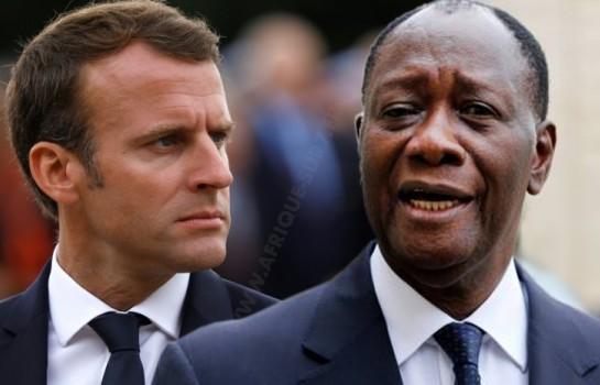 Alassane Ouattara lâché par la France d'Emmanuel Macron