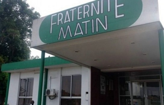 Le siège de Fraternité Matin
