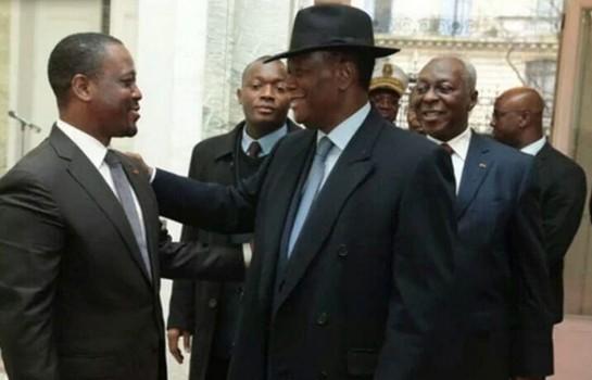 Alassane Alassane Rencontre Ouattara et Guillaume Soro