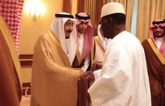 Alassane Ouattara et le Roi Salmane Ben Abdelaziz